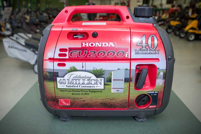 Distributors Since It Began Sales Of Outdoor Power Equipment In The United  States In 1973. In Relation, Honda Power Equipment Executives Helped  Celebrate ...
