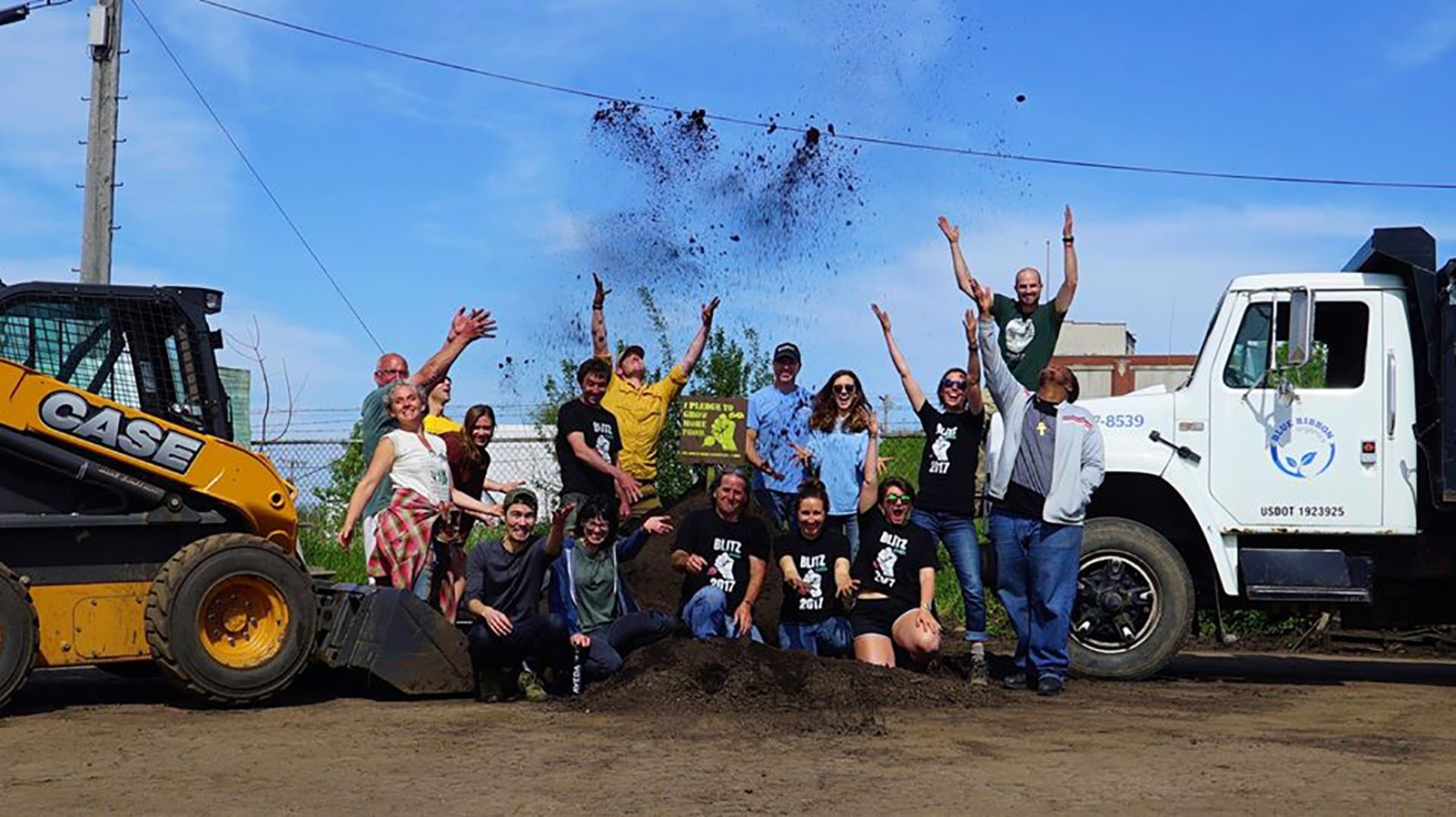 case, cnh industrial donate to 2017 victory garden blitz | power