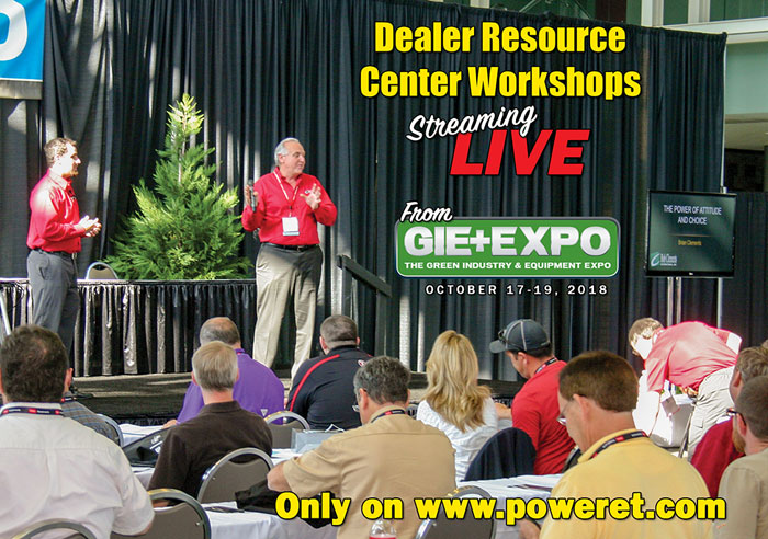 PET Exclusive: Dealer Workshop Videos From GIE+EXPO 2018