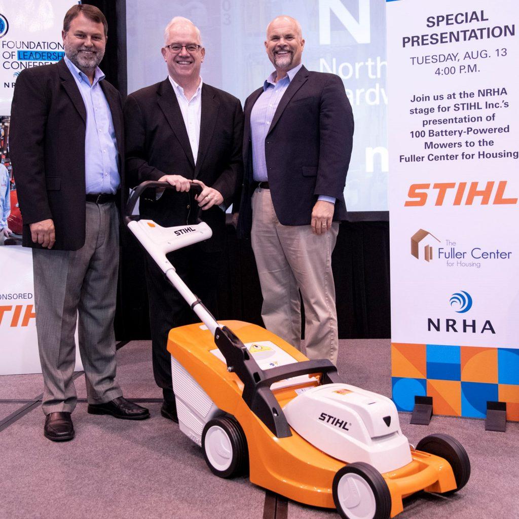 STIHL Inc. Donates Battery Equipment to The Fuller Center for Housing