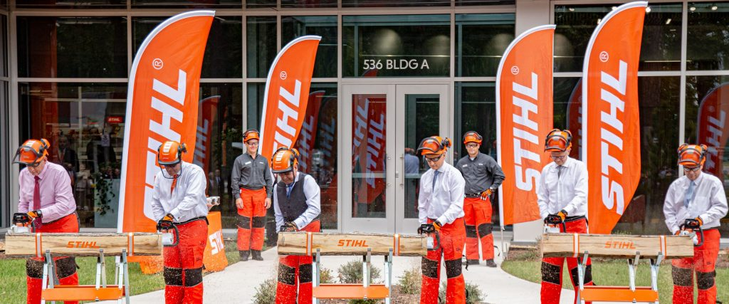 Stihl Dedicates New Admin Building