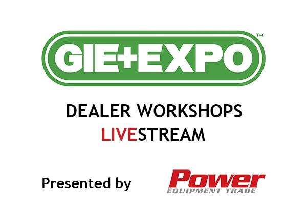 GIE+EXPO Dealer Workshops