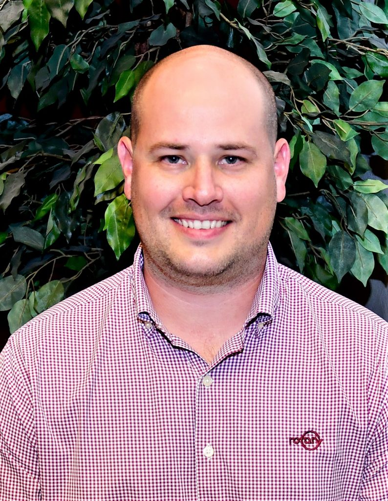 Rotary Corp. has named Alex Phillips territory manager for Virginia, West Virginia and Maryland.