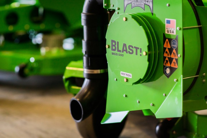 Mean Green Granted Patent For Debris Blower