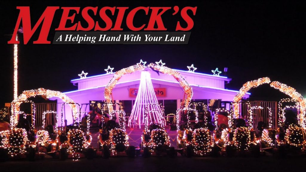 Messick's Christmas Light Show in Elizabethtown