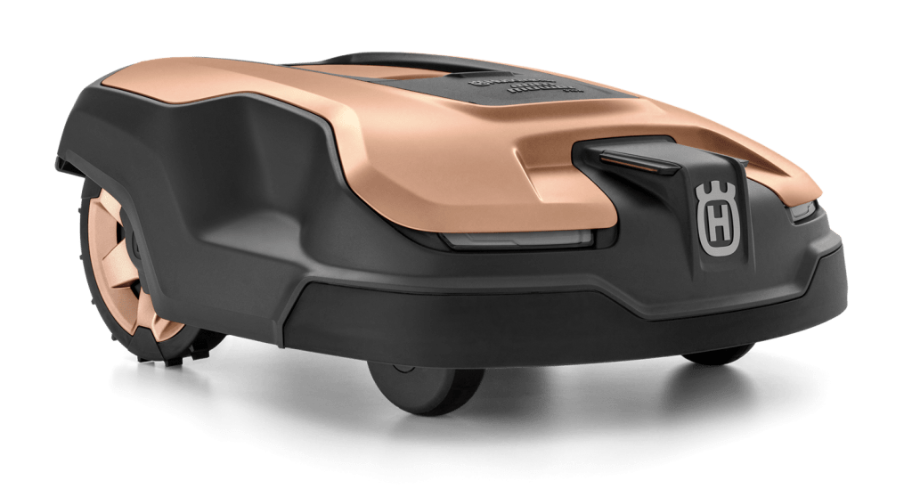 Husqvarna has produced a special 315X Gold Edition Automower