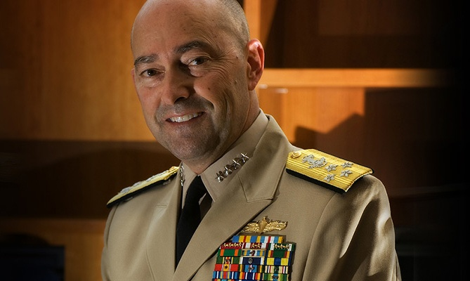 Four-Star Navy Admiral To Deliver GIE+EXPO Keynote