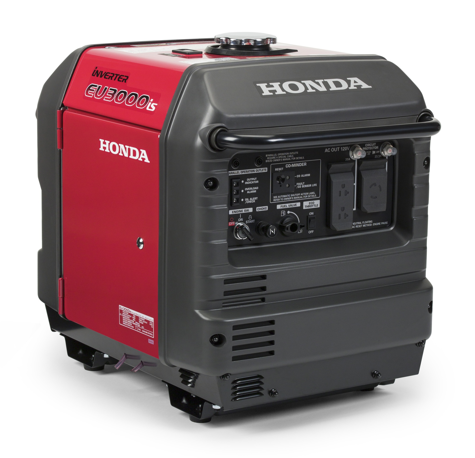 New From Honda: Co-Minder, Carbon Monoxide Detection System For Generators