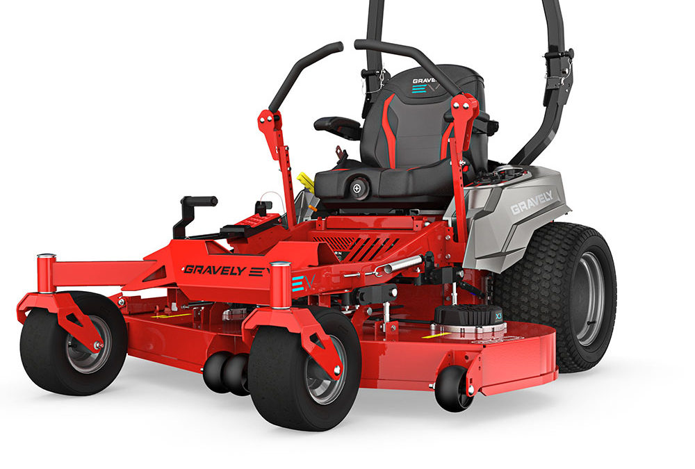 New From Gravely: Pro-Turn EV Mower