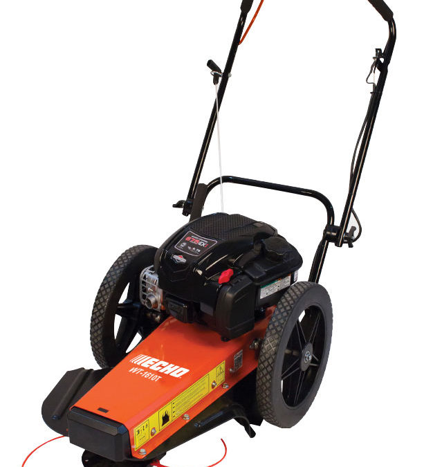 New From Echo: Wheeled Trimmers