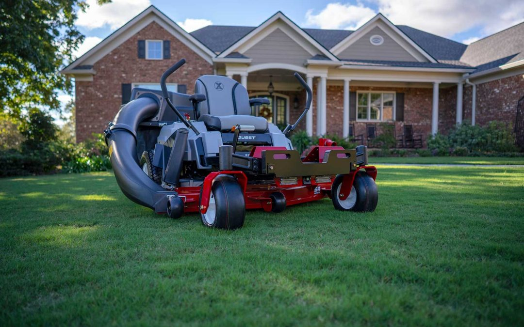 Updates From Exmark: Quest Zero-Turn Mowers