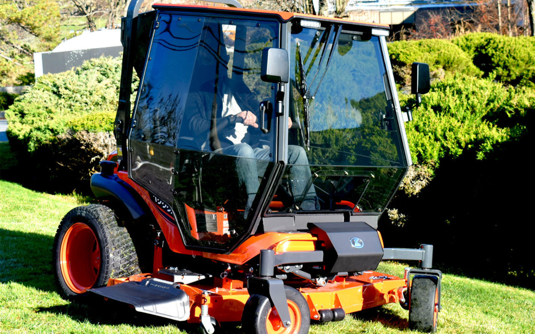New From Curtis Industries: Premium Air-Conditioned Cab For Kubota ZD1211