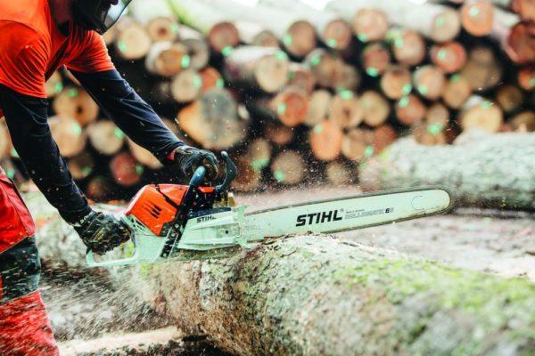 STIHL MS500i Chain Saw