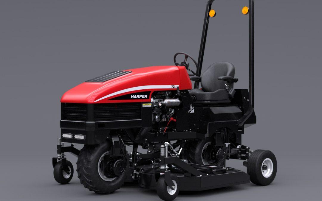 Redesigned From Harper: ATM72 Slope Mower