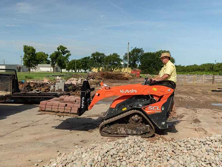New From Kubota: SCL1000 Attachments