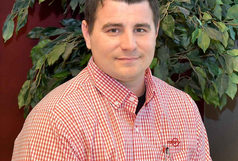 Rotary Adds To Sales Division